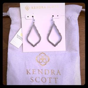 NWT Kendra Scott Silver Sophia Earrings